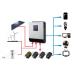 Гибридный инвертор для работы от сети и солнечных систем 5000VA MPPT DC48V