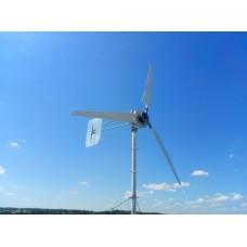 Ветрогенератор 2500w 24в, 48в + ВРШ + токосъемник